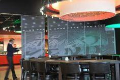 #Space #paneelwand bij FC Twente #Enschede #paneelwanden #vouwwand #schuifwand