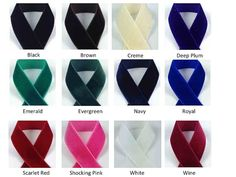 Velvet Ribbon - Select Color And Length - Nylon Velvet Wholesale Ribbon, Velvet Ribbon, Grosgrain Ribbon, Hair Bows, The Selection, Arts And Crafts, Etsy, Colors, Fashion