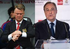 Guerra abierta entre el Manchester United y el Real Madrid.