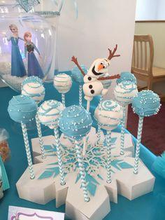 Olaf cakepops