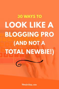 """Are you a newbie that wants your blog to look professional? Or are you a  professional but your blog still looks like it was created by a newbie? If  so, then this post is for you!  But first, a short video to give you a kick in the pants!!! (Warning, it  contains the """"F"""" word.) You m"""