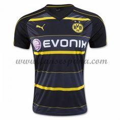 Camisetas De Futbol BVB Borussia Dortmund Segunda Equipación 2016-17