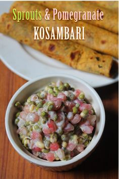 Raitha Recipes, Sprout Recipes, Healthy Salad Recipes, Curry Recipes, Raw Food Recipes, Veggie Recipes, Indian Food Recipes, Vegetarian Recipes, Cooking Recipes