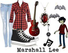 """Marshall Lee"" by littlemisstoxin on Polyvore"