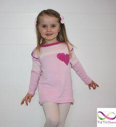 Nydelig rosa mariusgenser i kasjmir Barn, Rompers, Mini, Dresses, Fashion, Pink, Vestidos, Moda, Converted Barn