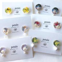 "petale on Instagram: ""rainbow_gardenさんに送る子達💓 一点物多めです。 ⚠️オーダーお休み中 ↓↓お店情報はこちら↓↓ #Repost @rainbow_garden2019 🏠福岡県中間市浄花町8-23 #petale #handmade #handmadeearring…"" Diy Resin Crafts, Diy Resin Art, Handmade Crafts, Diy And Crafts, Diy Earrings Making, Jewelry Making, Resin Jewelry Tutorial, Fairy Jewelry, Diy Crystals"