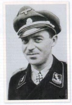 ✠ Kurt Wahl (20 August 1914 — 28 December 1988) RK 23.08.1944 SS-Hauptsturmführer Adjutant SS-Pz.Gren.Rgt 38 und Führer einer Kampfgruppe + [720. EL] 01.02.1945 SS-Sturmbannführer Kdr SS-Pz.Aufkl.Abt 17