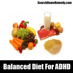 Balanced Diet For ADHD