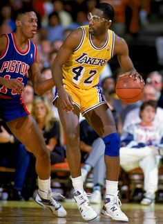James Worthy v. Dennis Rodman