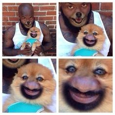 This face swap that should never have been allowed to happen. | 31 Photos That Will Make You More Uncomfortable Than They Should