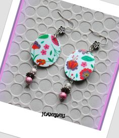 Boucles d'oreilles: colorées*raffinées*/www.alittlemarket.com/boutique/univers-color : Boucles d'oreille par univers-color