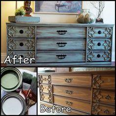 Cowie's Craft & Cooking Corner: Dresser Makeover