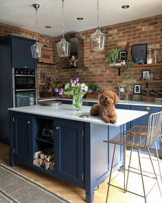 More than 34 ideas and trends in kitchen renovation design for Part . - More than 34 ideas and trends in kitchen renovation design for Part 4 of 2019 – # - Small Kitchen Tables, Diy Kitchen, Kitchen Decor, Kitchen Rustic, Kitchen Living, Kitchen Black, Kitchen Colors, Kitchen Themes, Blue Kitchen Ideas
