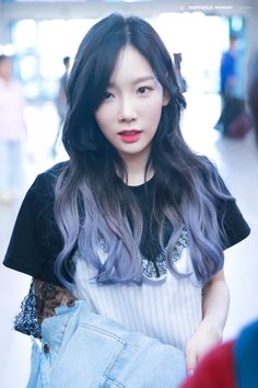 [HQ][170527] TAEYEON @ Incheon airport heading to Bangkok