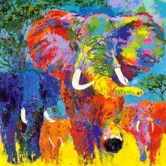 Elephant by Leroy Neiman