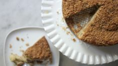 When the nice folks at The Nosher asked me to share my favorite Rosh Hashanah recipe, I knew exactly what I wanted to share. And it made me realize that there a Passover Recipes, Jewish Recipes, Apple Coffee Cakes, Apple Cakes, Coffee Cups, Kosher Recipes, Vegan Recipes, Pudding, Brownie
