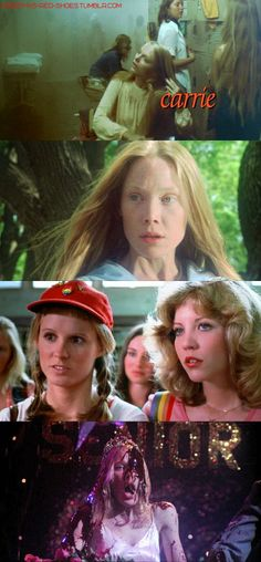 Carrie White, you notice Carrie is my favorite horror movie :)