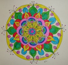 colorful mandala from Dion Dior