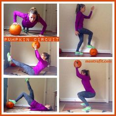 Happy Halloween - Pumpkin Circuit Workout by Mantra Fit