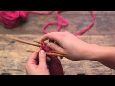 Easy instructions to easy knitted mitten! Knit Basket, Fashion Sewing, Diy Projects To Try, Knitting Yarn, Needlework, Knit Crochet, Hair Accessories, Crafty, Youtube