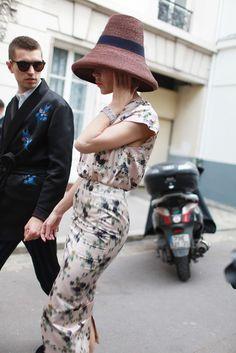 Paris Couture Week street style