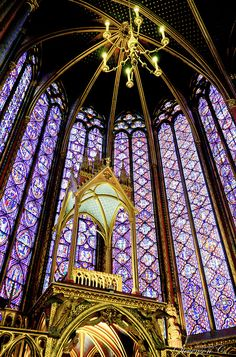 Saint Chapelle: everyone talks about Notre Dame - this church is a not to be missed.