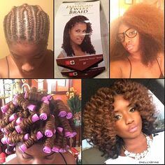 Good job on your #crochetbraids, @nelly2fine!