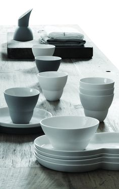 New Collection 2012 from Vipp. Design by Annemette Kissow. #porcelain #design #interior