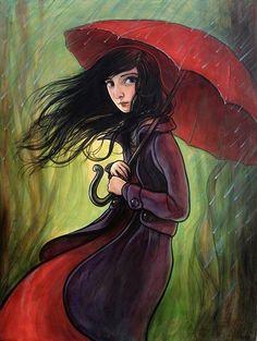 Whimsical Paintings by Kelly Vivanco