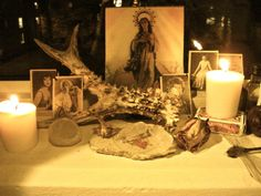 Window Shrine/Altar by Glittermoth