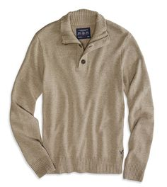 AE Mock Neck Sweater Conservative Outfits, Mens Outfitters, Knitting Designs, Mock Neck, Color Patterns, Men's Clothing, Fashion Forward, Knitwear, American Eagle Outfitters