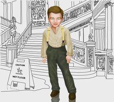Un 11 de noviembre, Leonardo DiCaprio cumplía 8 años.