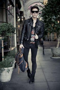 Rockin' the style