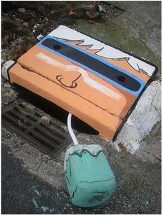 25 Ugly Sewer Drains And Manholes Get An Amusing Makeover