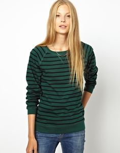 Love the idea of having a few high quality sweatshirts I can just throw on but not look sloppy in - i.e. this Ganni Old Spice Jersey Sweatshirt