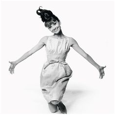 Audrey Hepburn, 1963, wearing Givenchy in a photo by Bert Stern
