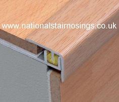 Adjustable Stair Edge Nosing Step Nosings For Laminate Flooring - National Stair Nosings