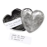For Your Heart's Desire Message Box, mehr originelle aunhttp://www.magicofword.com/witzige-geschenke/valentinstag