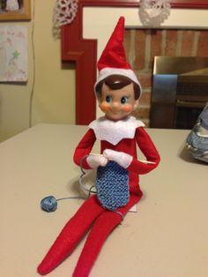 27 Elf on the Shelf ideas - use with rainbow loom instead