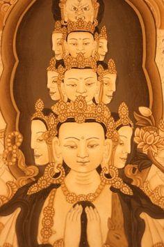 Buddhist Shrine, Picture Sizes, Buddha, Arms, Princess Zelda, Hand Painted, Statue, Fictional Characters, Beautiful
