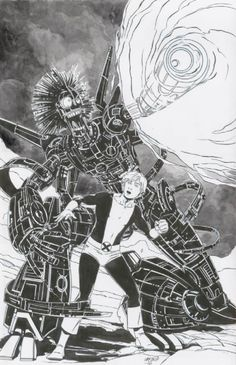 Marc Laming - Warlock and Cypher - New Mutants - Protection Mode Engaged , in IconUK's Cypher, Warlock and the New Mutants 3 Comic Art Gallery Room