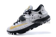 CUSTOM NK KD 7 (VII) FIREWORKS BLACK-WHITE/METALLIC GOLD FOR CHEAP SALE NEW ARRIVAL, Only$81.00 , Free Shipping! http://www.jordanse.com/custom-nk-kd-7-vii-fireworks-blackwhite-metallic-gold-for-cheap-sale-new-arrival.html