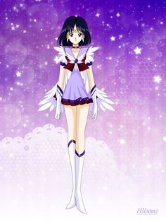Celestial Sailor Saturn by Bloom2