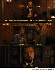 It's actually a shame that Leo doesn't have an Oscar yet, but still - this is hilarious :D