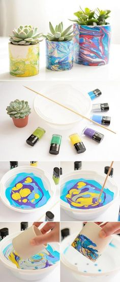 Nail Polish Water Marbling Technique | The WHOot