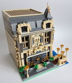 LEGO MOC-14123 The Lounge (10253 Big Ben Alternate Model Modular) (Modular Buildings 2018) | Rebrickable - Build with LEGO