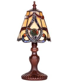 """Mini Brandi 11.5"""" H Table Lamp with Bell Shade"""