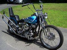 1955 Harley Davidson Panhead FL1200 Chopper/Bobber #harleyddavidsonpanhead