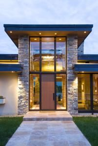 All seasons lakefront residence by Charles Stinson Architects