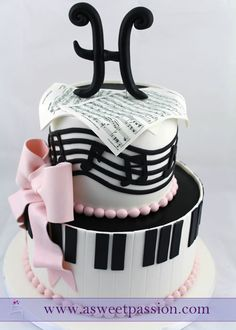 Musical 50th Birthday Cake | A Sweet Passion